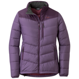 OR Women's Transcendent Down Jacket amethyst/pacific plum