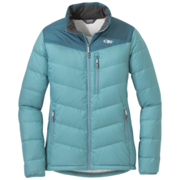 OR Women's Transcendent Down Jacket seaglass/washed peacock