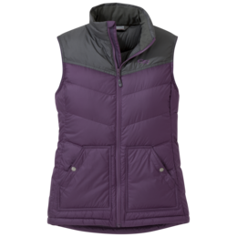 OR Women's Transcendent Down Vest pacific plum/storm