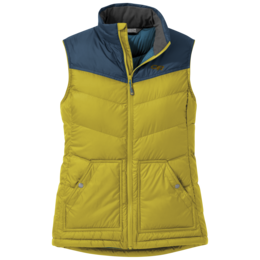 OR Women's Transcendent Down Vest turmeric/prussian blue