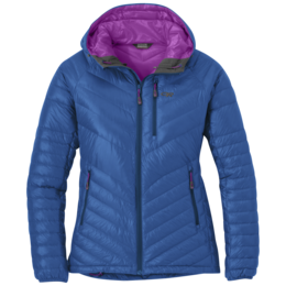 OR Women's Illuminate Down Hoody cobalt