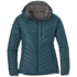 OR Women's Illuminate Down Hoody washed peacock