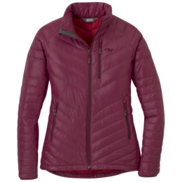 OR Women's Illuminate Down Jacket garnet