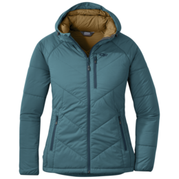 OR Women's Refuge Hooded Jacket washed peacock