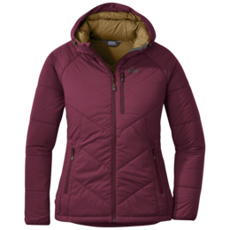 OR Women's Refuge Hooded Jacket garnet