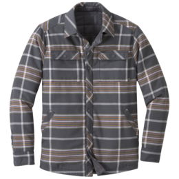 OR Men's Kalaloch Reversible Shirt Jckt storm plaid