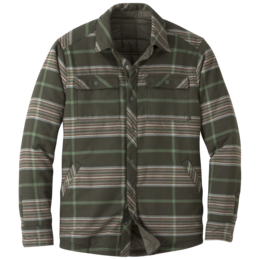 OR Men's Kalaloch Reversible Shirt Jckt juniper plaid