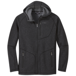 OR Men's Vashon Fleece Full-Zip charcoal heather