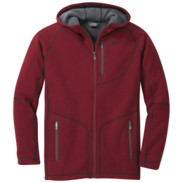 OR Men's Vashon Fleece Full-Zip firebrick