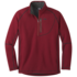 OR Men's Vashon Fleece Qtr-Zip firebrick
