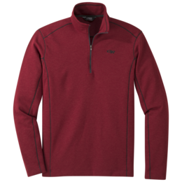 OR Men's Blackridge Qtr-Zip firebrick