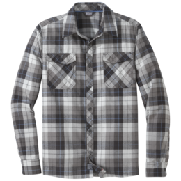 OR Men's Tangent II L/S Shirt black plaid