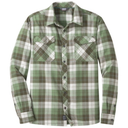 OR Men's Tangent II L/S Shirt juniper plaid