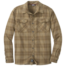 OR Men's Tangent II L/S Shirt carob plaid