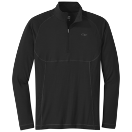 OR Men's Alpine Onset Zip Top black