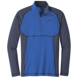 OR Men's Alpine Onset Zip Top cobalt/naval blue