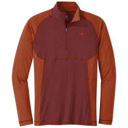 OR Men's Alpine Onset Zip Top firebrick/burnt orange