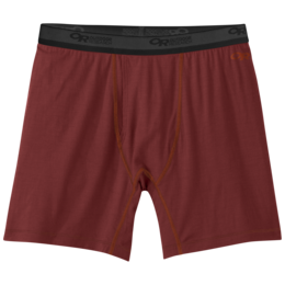 OR Men's Alpine Onset Boxer Briefs firebrick