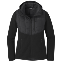 OR Women's Vashon Hybrid Full-Zip black heather