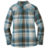 OR Women's Kalaloch Reversible Shirt Jac peacock plaid