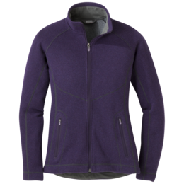 OR Women's Vashon Fleece Full-Zip pacific plum