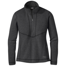 OR Women's Vashon Fleece Qtr-Zip charcoal heather