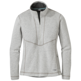 OR Women's Vashon Fleece Qtr-Zip sand