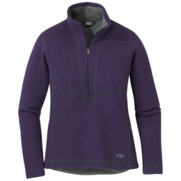 OR Women's Vashon Fleece Qtr-Zip pacific plum