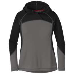 OR Women's Echo Hoody pewter/black