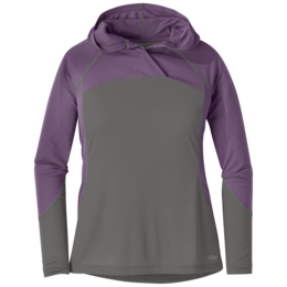 OR Women's Echo Hoody pewter/amethyst