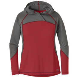 OR Women's Echo Hoody tomato/pewter