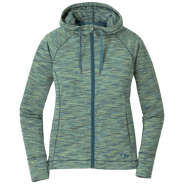 OR Women's Melody Hoody washed peacock multi