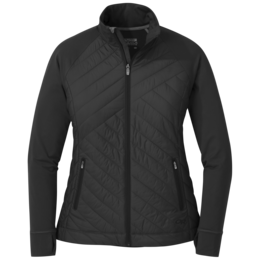OR Women's Melody Hybrid Full Zip black