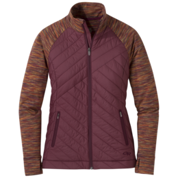 OR Women's Melody Hybrid Full Zip garnet multi