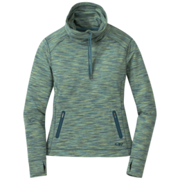 OR Women's Melody Cowl Neck washed peacock multi