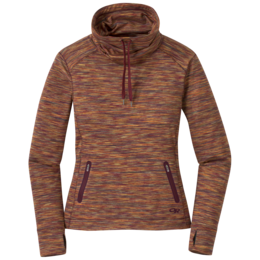 OR Women's Melody Cowl Neck garnet multi