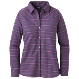 OR Women's Pilchuck L/S Shirt pacific plum