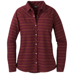 OR Women's Pilchuck L/S Shirt garnet