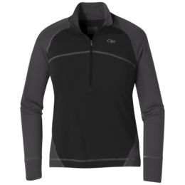 OR Women's Alpine Onset Zip Top black/storm