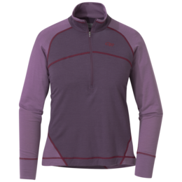 OR Women's Alpine Onset Zip Top pacific plum/amethyst