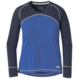 OR Women's Alpine Start V-Neck lapis/naval blue