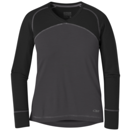 OR Women's Alpine Onset V-Neck storm/black