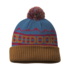 OR Mainstay Beanie peacock/saddle