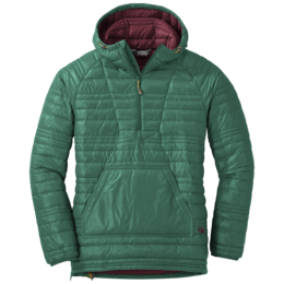 OR Women's Down Baja Pullover hemlock/zin