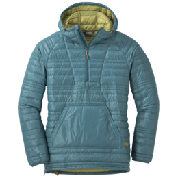 OR Women's Down Baja Pullover washed peacock/avocado
