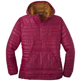 OR Women's Down Baja Pullover sangria/curry