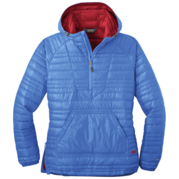 OR Women's Down Baja Pullover wave blue