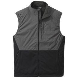 OR Men's Microlight Vest pewter/black