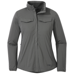 OR Women's Microlight Shirt Jac pewter