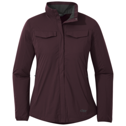 OR Women's Microlight Shirt Jac pinot
